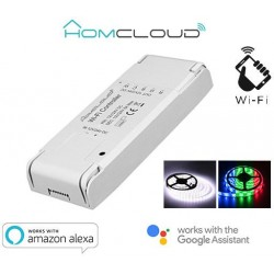 Controller Strisce LED Wi-Fi 12-24V RGB + white
