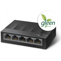 Switch Desktop 5 Porte 10/100/1000Mbps Risparmio energetico